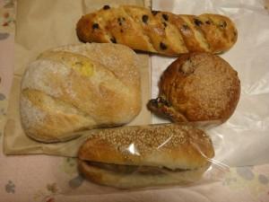 ムールアラムールのパン